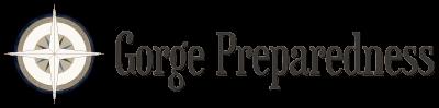 Gorge Preparedness Compass Logo