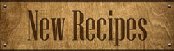 New Recipes Sign